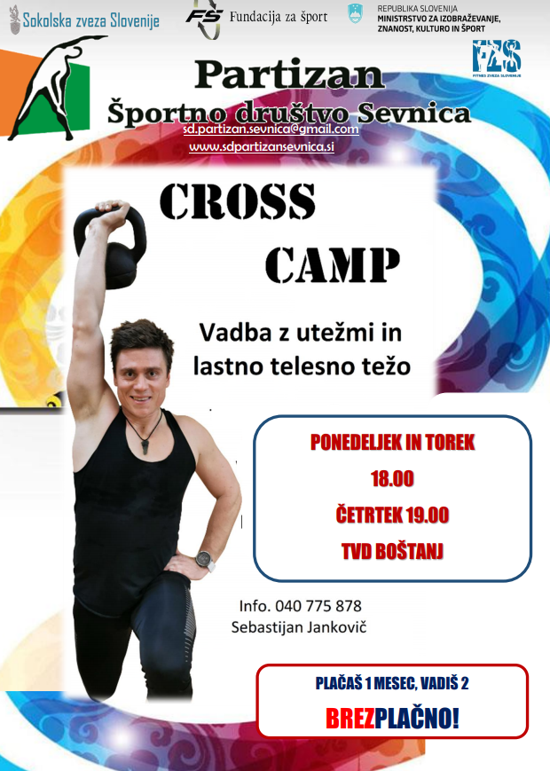 cross camp moški